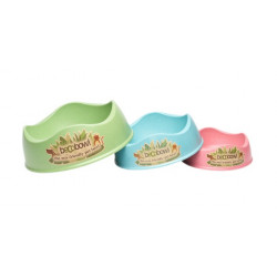 A Large Green, Medium Blue & Small Pink Set Of BecoBowls