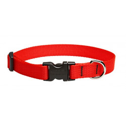 Lupine Medium Dog Collar In Red