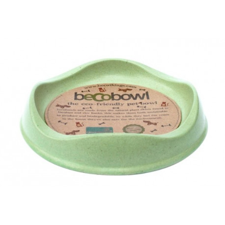 Green Beco Cat Bowl