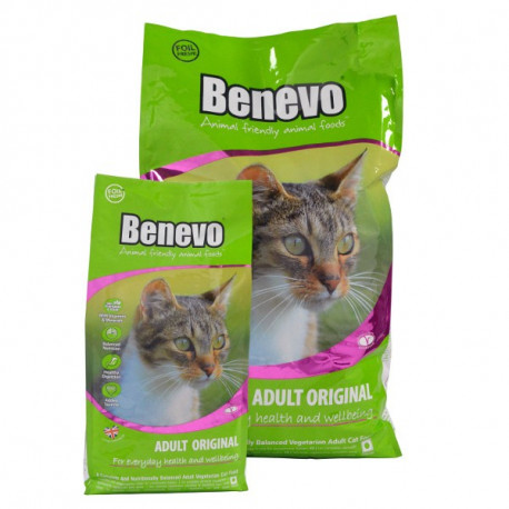 Benevo Complete Vegan Vegetarian Dry Cat Food 2kg Amp 10kg
