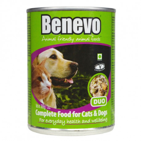 Benevo Duo Vegan Dog Cat Tin