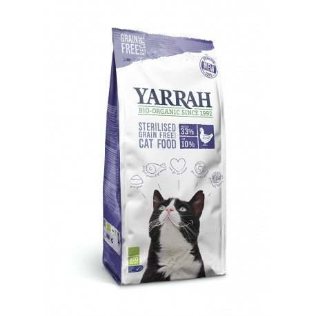 Yarrah Org. Neutered Cat Dry Grain-Free