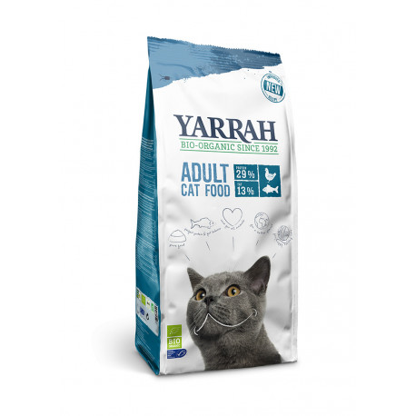 Yarrah Organic Cat Dry Fish (MSC)