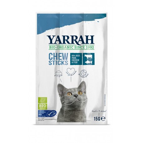 Yarrah Organic Cat Chew Sticks