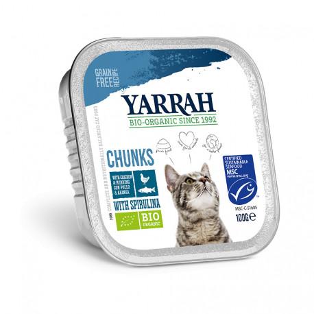 Cat Alu Chunks Fish with Spirulina