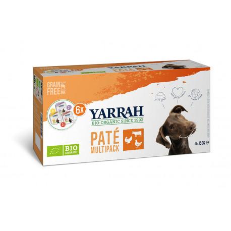 Yarrah Org. Dog Alu Pate Multipack