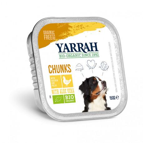 Organic Chicken Chunks in Gravy Alu-Cup 150g
