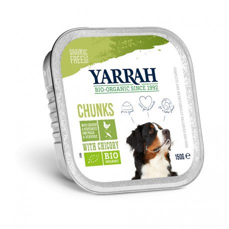 Dog Alu Chunks Chicken & Vegetables with Cichory