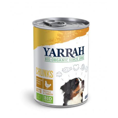 Yarrah Organic Dog Chicken Chunks 405g