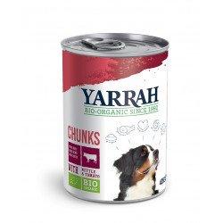 Yarrah Organic Dog Beef Chunks 405g