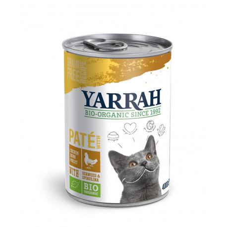 Yarrah Bio Cat Organic Wet Chicken Pate With Spirulina