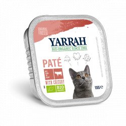 Yarrah Org. Cat Alu Pate Beef & Chicken
