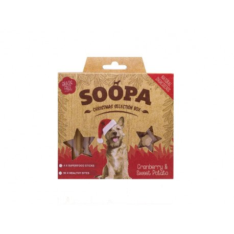 Soopa Christmas Selection Box Front