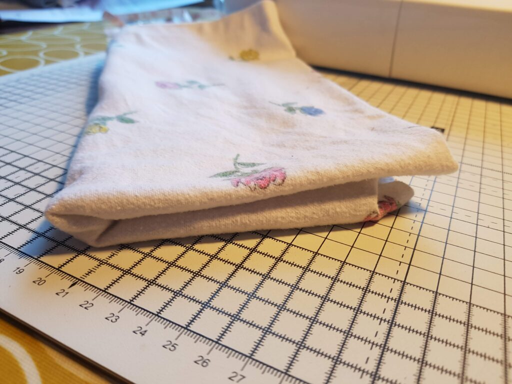 make your own burp cloth - eco-baby tips