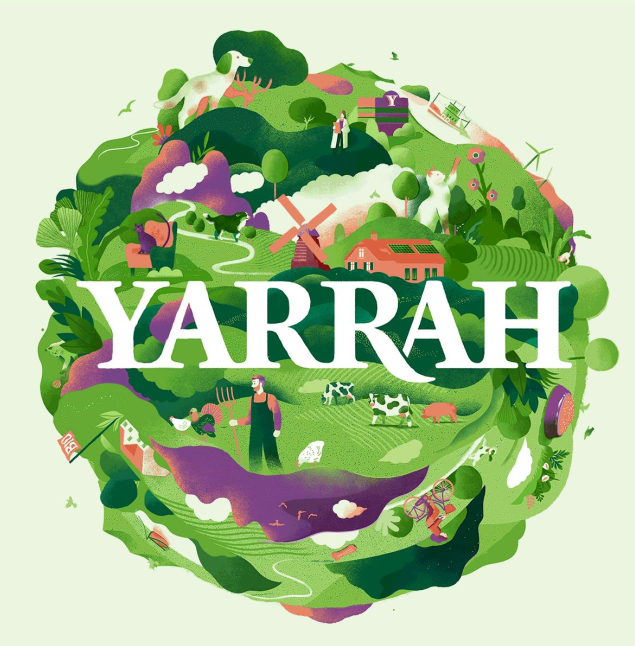 New Yarrah logo for the new recyclable packaging